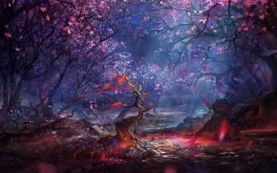 Fondo de pantalla Bosque Magico