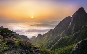 Fondo hd de hermoso paisaje