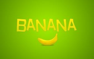 Fondo de pantalla de una banana