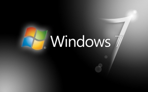 Wallpaper para Windows 7 en Negro