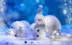 Muneco de nieve navidad 2016 bolas y adornor navidenos