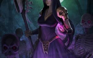 La bruja de Clash Royale en Wallpaper