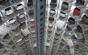 Carsautos technology vw multi storey car park