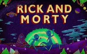 Fondos de pantalla para ps4 rick y morty