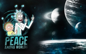 Fondo de pantalla rick and morty
