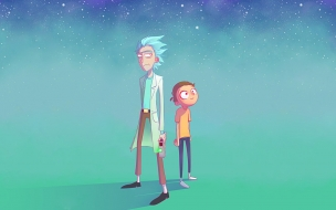 Fondo de pantalla rick y morty pc