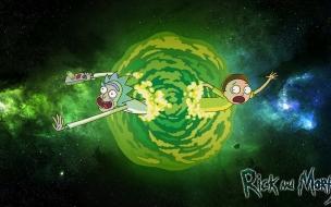 Rick y morty para fondo de pantalla