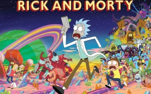 Fondos de pantalla para rick and morty