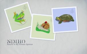 Fondo de pantalla collage de animales