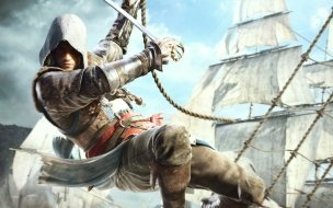 Edward kenway in assassins creed 4 wide