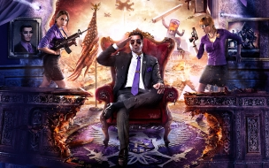 Saints row iv artwork wide