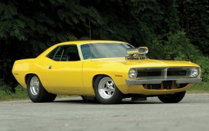 70 Plymouth Barracuda Pro Street