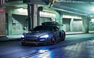 Audi R8 by Jon Olsson wallpaper