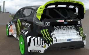 Ken Block Fiesta Render wallpaper
