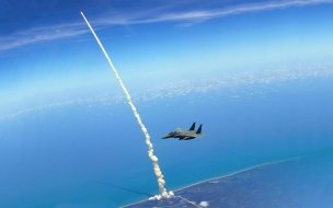 F15 and Space Shuttle Atlantis