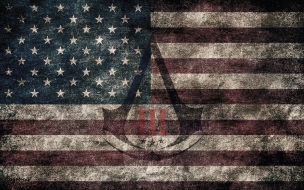 Assassin s Creed III American Eroded Flag w