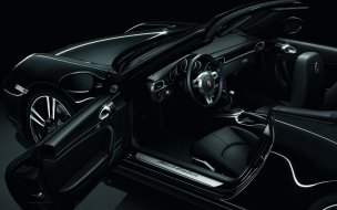 2011 Black Porsche 911 Black Edition Interior wall