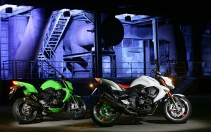 2008 Kawasaki Z1000 Motorcycles wallpaper