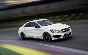 2014 Mercedes Benz CLA45 AMG RaceTrack wallpaper
