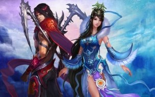 Chinese Game Couple