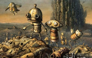 Cover Machinarium Game wallpaper