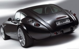 Wiesmann GT Car Back wallpaper