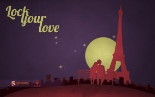 Love in paris wide