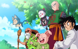 Dragon Ball Super Los Amigos de Goku