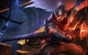 Projecto Yasuo Skin League of Legends Wallpaper HD