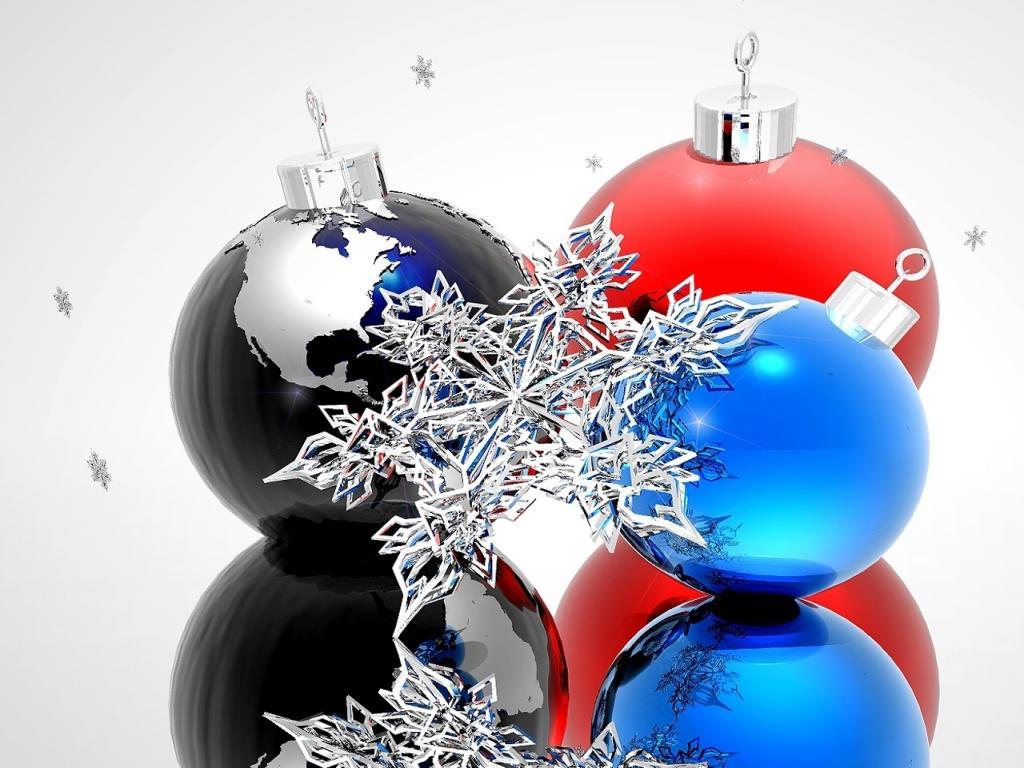 Fondos de pantalla de bolas de navidad con fondo verde - Bolas de navidad ...