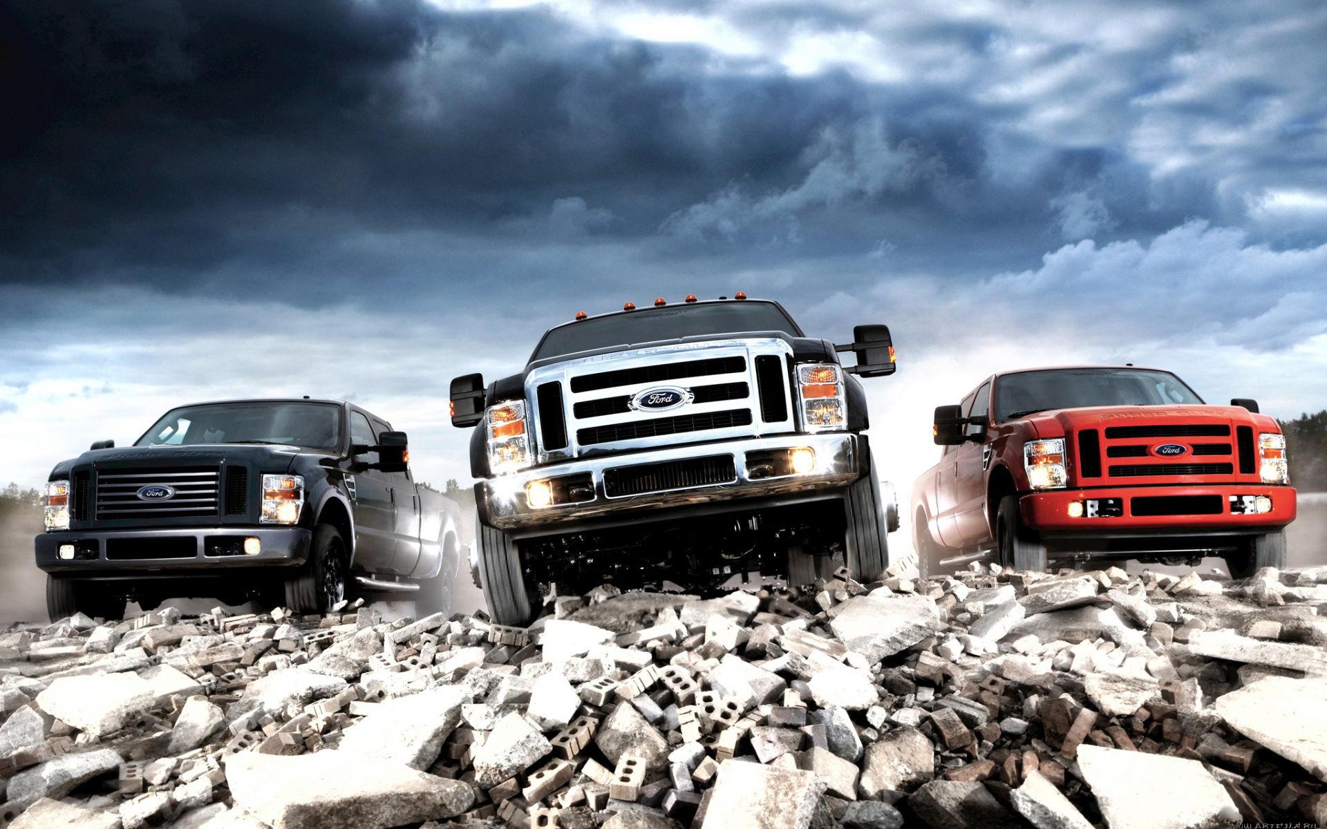 Autos Camiones Fondos De Pantalla Gratis: Camionetas Ford Fondo De Escritorio 1920x1200