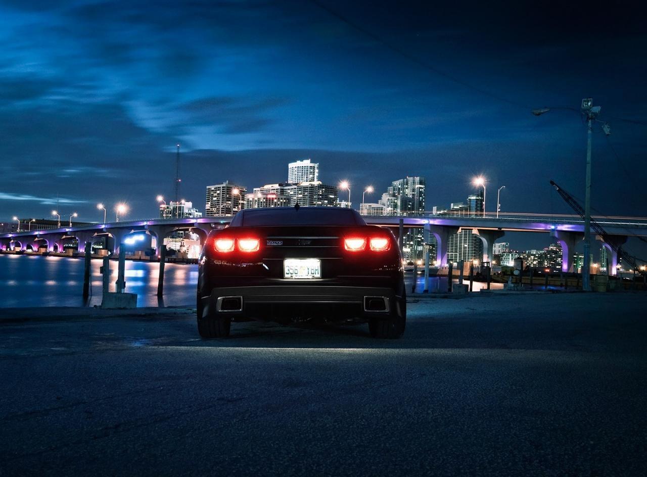 Chevrolet Camaro City Night wallpaper 1280x944 - Fondo de ...