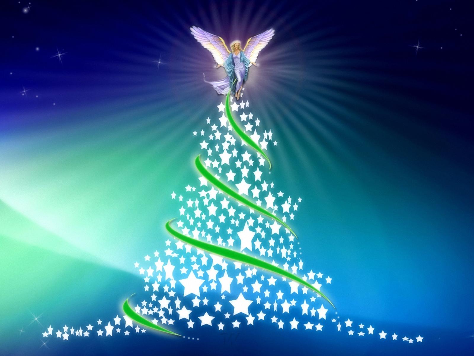 Fondos De Pantalla Navidenos Gratis: Fondo De Pantalla Angel De Navidad 1600x1200