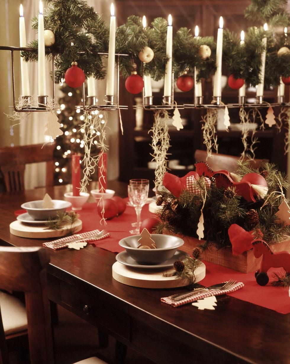 Fondos hd mesa navide a decorada 980x1226 fondo de - Mesa navidena ...