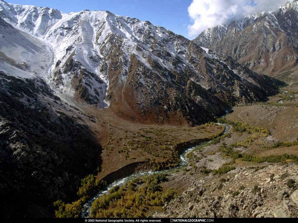 Montaña Nevada 1024x768: Montañas Con Nieve 1024x768