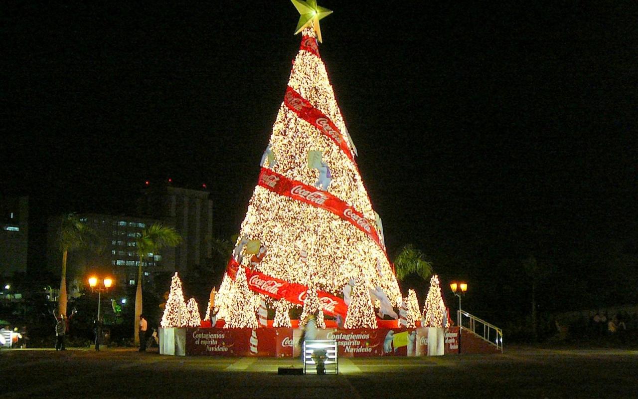 Arbol De Navidad Cocacola 1280x800