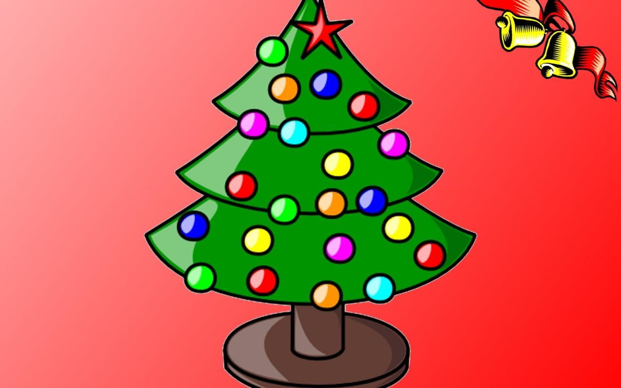 Arbol De Navidad Con Dulces 1280x800