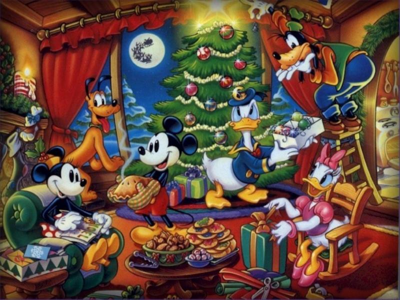 Fondos De Pantalla Arbol De Navidad Mickey Mouse Y Sus