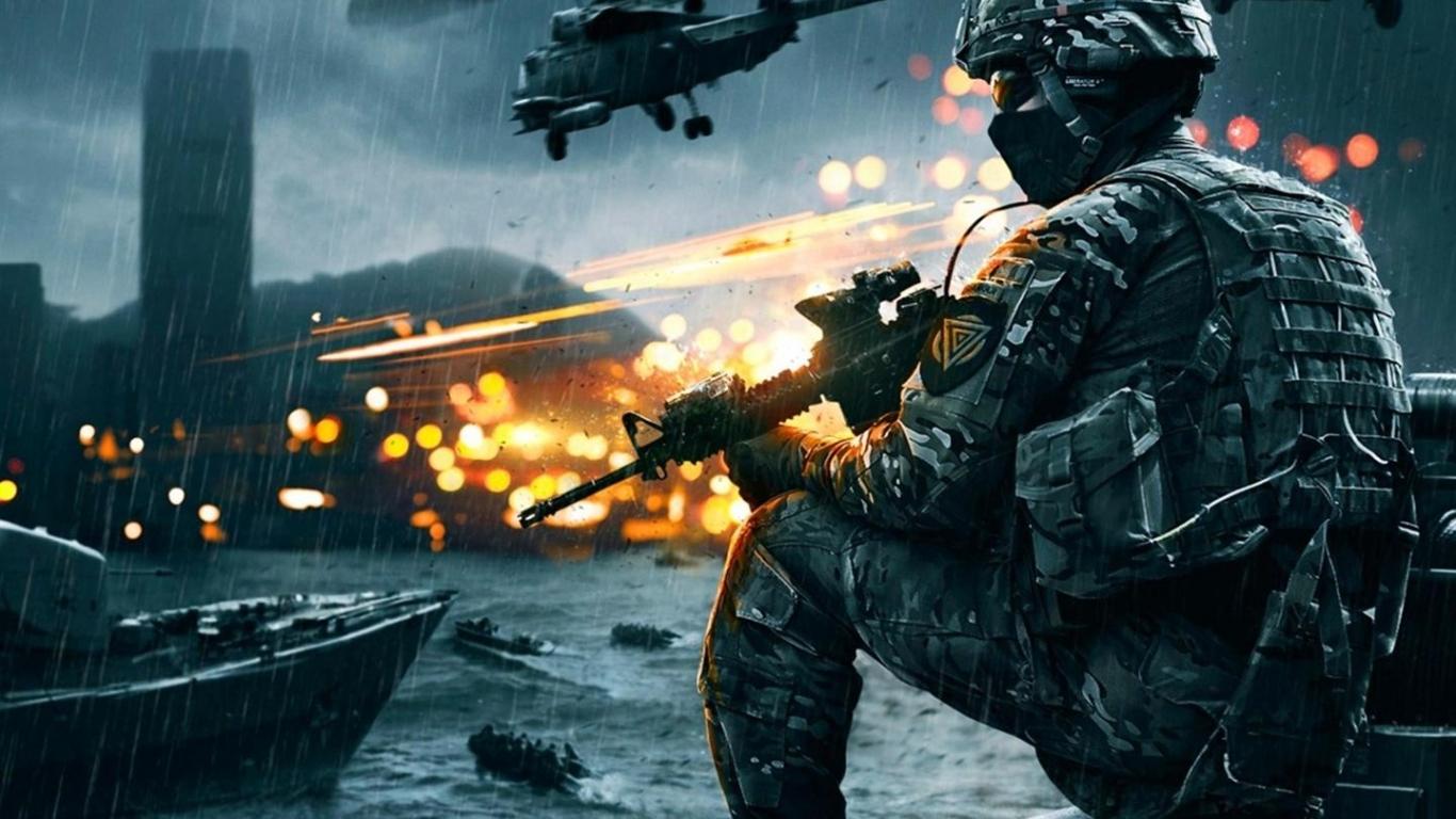 battlefield 4 1366x768 fondo de pantalla 2135