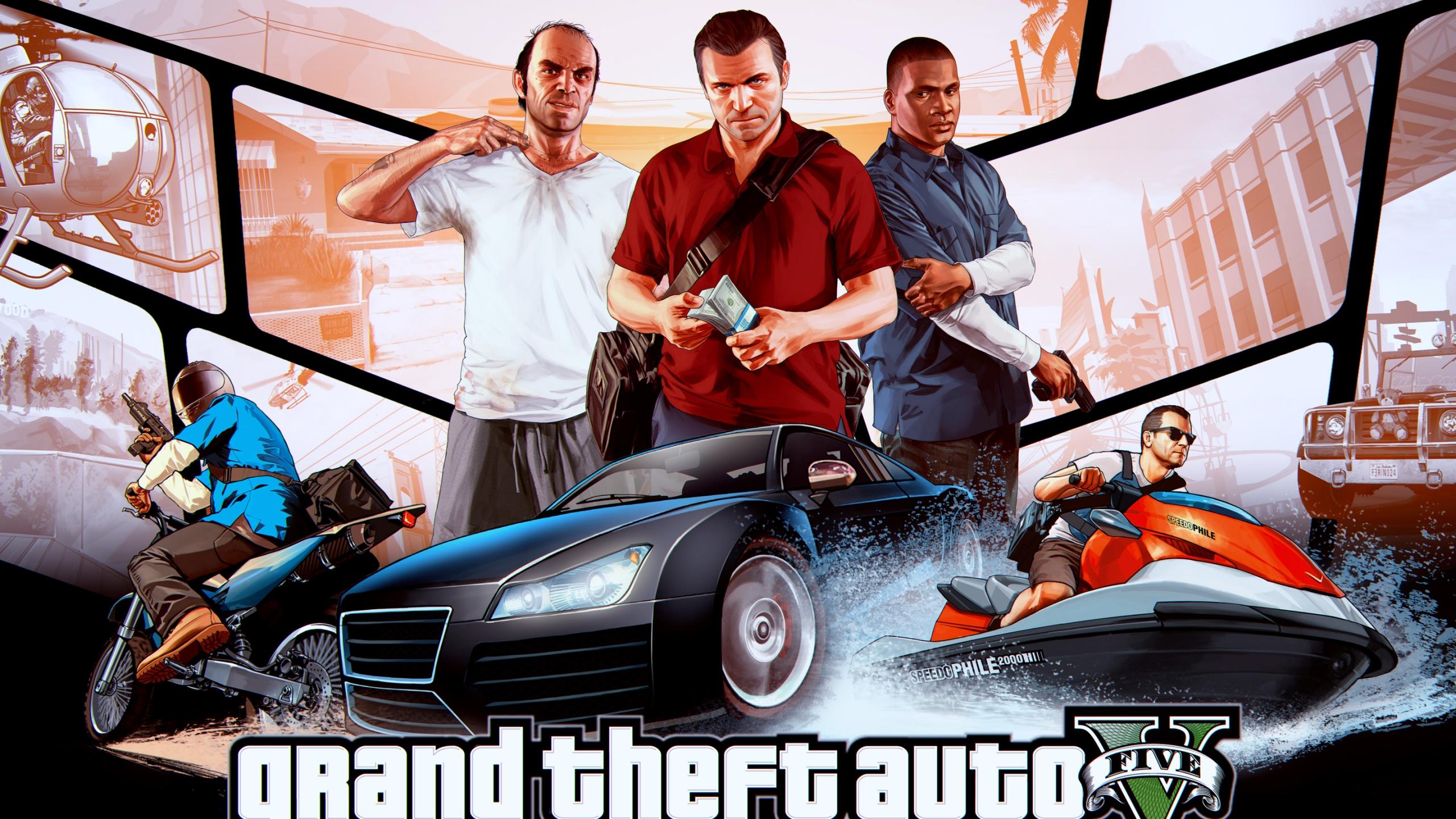 Grand Theft Auto V 2560x1440